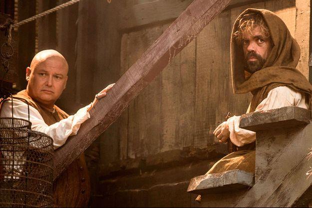 Varys (Conleth Hill) et Tyrion Lannister (Peter Dinklage) seront de retour le 12 avril prochain.
