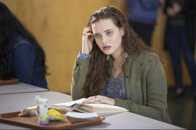 "Katherine Langford, Hannah Baker dans ""13 Reasons Why""."