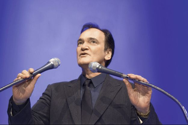 Quentin Tarantino fait son show