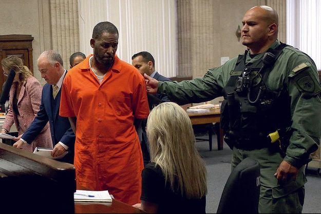 R. Kelly au tribunal de Chicago.