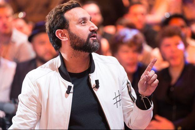 """Cyril Hanouna, fin avril lors de la 1000e de l'émission de """"Touche pas à mon poste""""."""