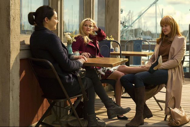 Jane (Shailene Woodley), Madeline (Reese Witherspoon) et Céleste (Nicole Kidman).