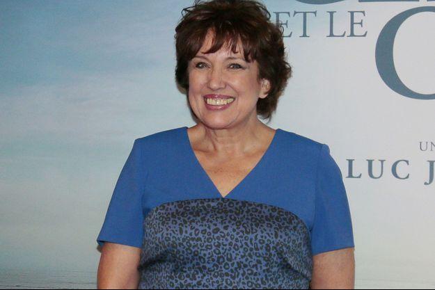 """Roselyne Bachelot à l'avant-première de """"La Glace et le Ciel"""" en octobre dernier."""