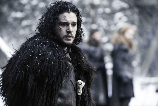 """Kit Harrington a été aperçu sur le tournage de la sixième saison de """"Game of Thrones""""."""