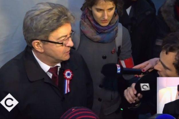 Jean-Luc Mélenchon samedi.