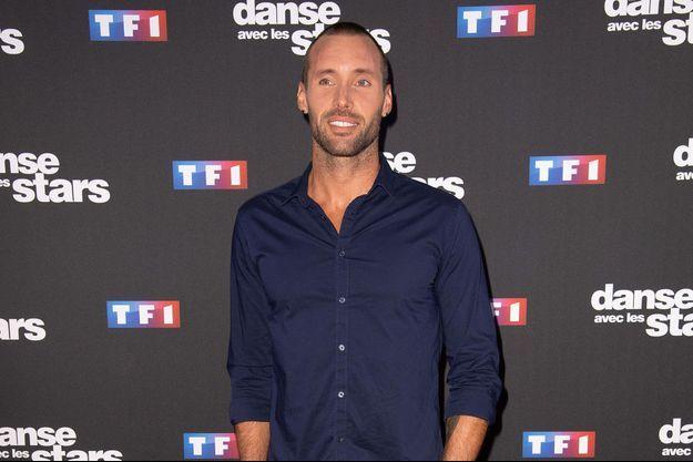 """Sami El Gueddari à la soirée de lancement de la dixième saison de """"Danse avec les stars""""."""