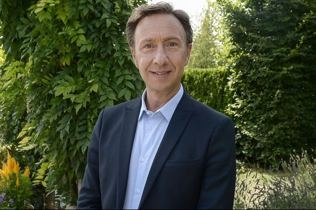 Stéphane Bern à Giverny, en septembre 2019.