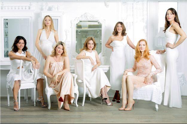 Anne Charrier, Elodie Frenck, Cécile Bois, Marine Delterme, Valérie Karsenti, Odile Vuillemin et Annelise Hesme