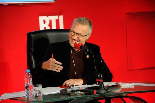 """Laurent Ruquier est l'animateur des """"Grosses Têtes"""" depuis 2014."""