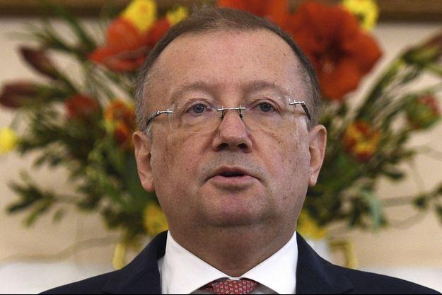 L'ambassadeur russe Alexander Vladimirovich Yakovenko, au lendemain de l'attaque à l'agent neurotoxique contre l'espion et sa fille.