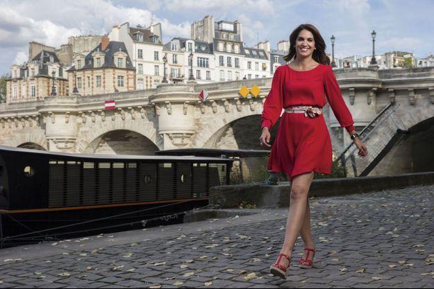 Près du pont Neuf, le 31 août. La journaliste, qui a grandi près de la mer, n'est jamais loin de l'eau.