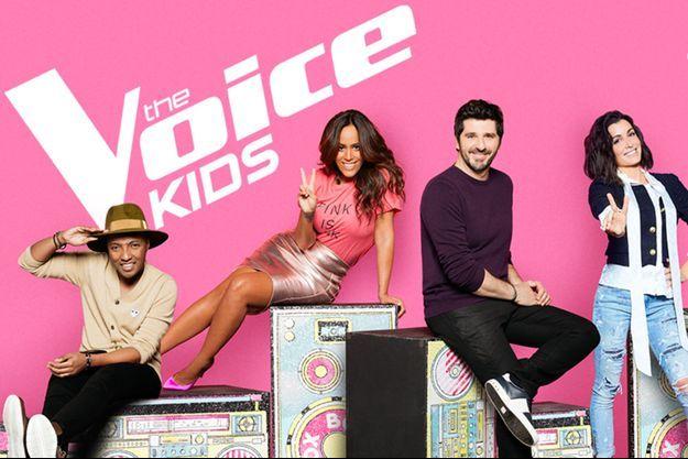 """Le nouveau jury de """"The Voice Kids""""."""