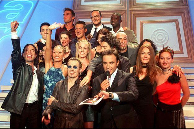 """Le premier prime de la """"Star Academy"""", le 20 octobre 2001."""