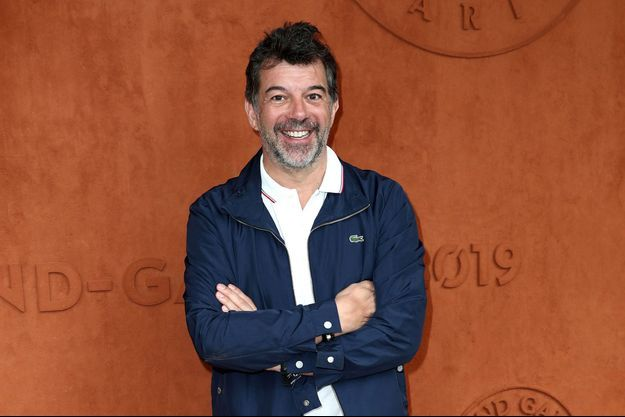 Stéphane Plaza à Roland Garros en 2019