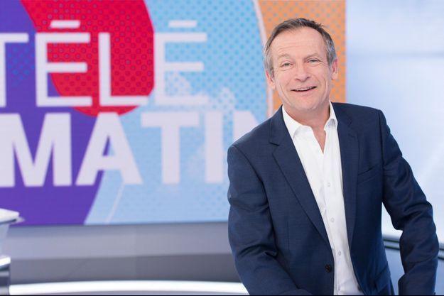 """Laurent Bignolas sur le plateau de """"Télématin""""."""