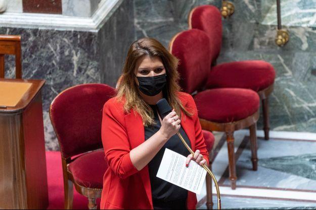 Marlène Schiappa à l'Assemblée nationale, le 30 mars.