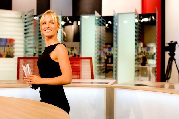 Audrey Crespo-Mara présentera le JT de TF1 à la place de Claire Chazal pendant ses vacances estivales.