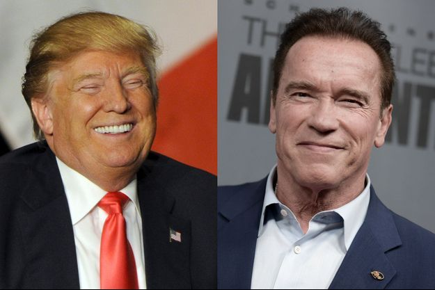 Donald Trump et Arnold Schwarzenegger.