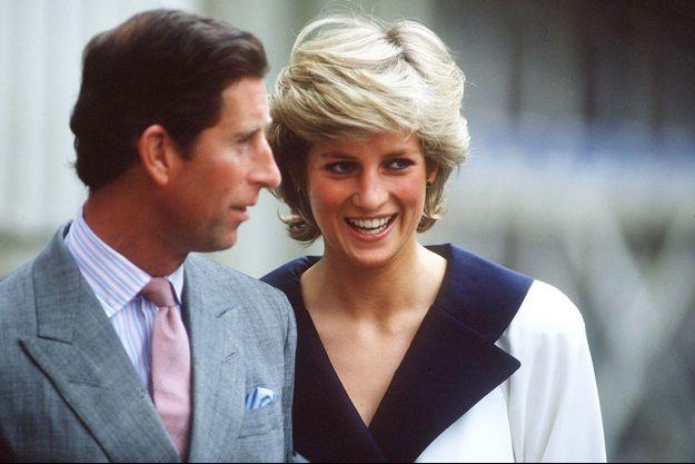 La princesse Diana et le prince Charles à Londres, le 4 août 1987