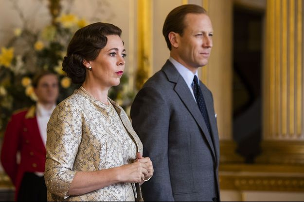 "Olivia Colman dans ""The Crown saison 3""."