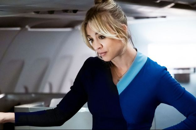 "Kaley Cuoco dans ""The Flight Attendant""."
