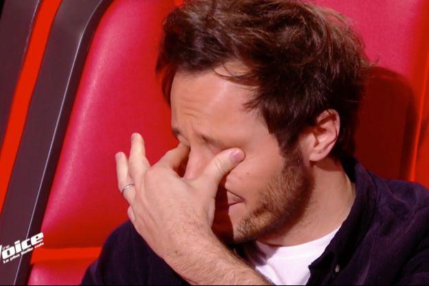 """Vianney sur le plateau de """"The Voice"""" samedi."""