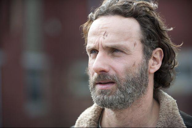 "Le personnage Rick (Andrew Lincoln) de ""The Walking Dead""."