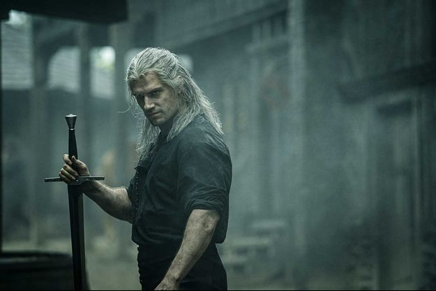 "Henry Cavill dans ""The Witcher""."