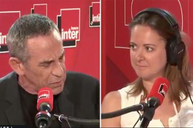 Thierry Ardissonet Charline Vanhoenaker sur France Inter