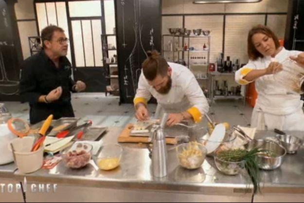 """Le coup de gueule de Michel Sarran dans """"Top Chef""""."""