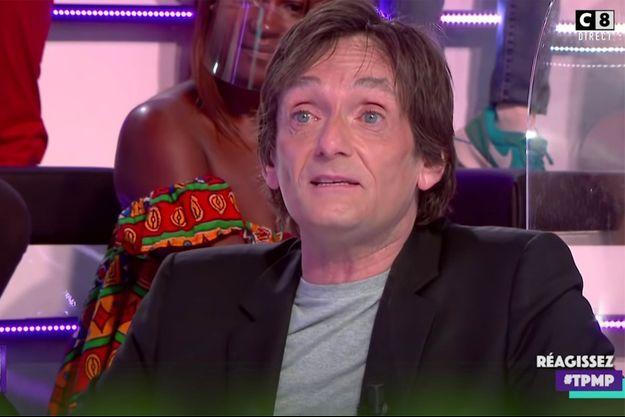 """Pierre Palmade sur le plateau de """"Touche pas à mon poste"""" le 7 septembre 2020"""