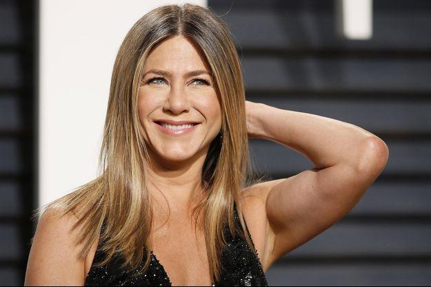 Jennifer Aniston en février dernier aux Oscars.
