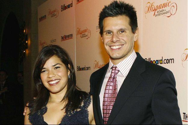 America Ferrera et Silvio Horta en 2007.