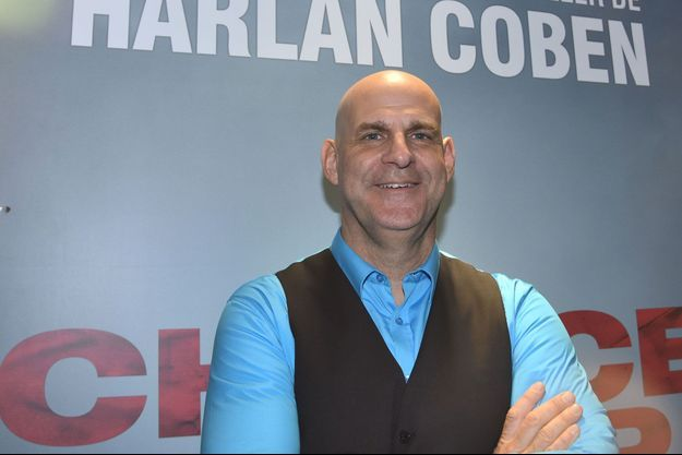 """Harlan Coben à la première d'""""Une chance de trop"""", en juin à Paris."""