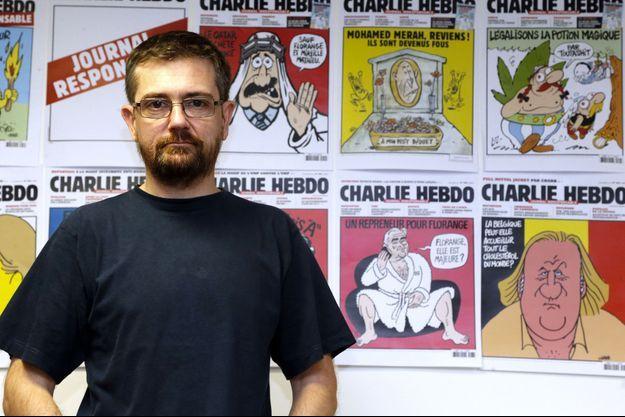 Charb, en 2012.
