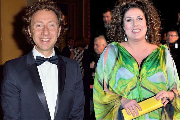 Stéphane Bern et Marianne James ont été choisis par France 2 pour animer l'Eurovision.