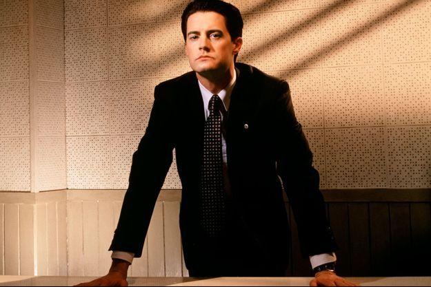 Kyle MacLachlan dans le rôle de l'Agent Dale Cooper.