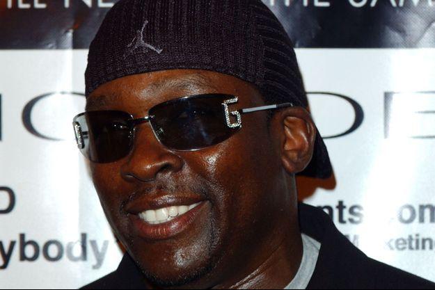 L'acteur Deezer D en 2004.