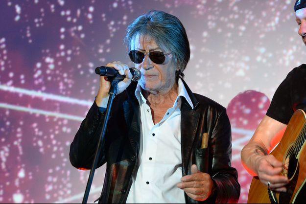 Jacques Dutronc lors de l'Etam Live Show, en septembre 2016.