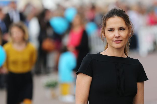 Virginie Ledoyen au festival du film de Cabourg en juin 2015.