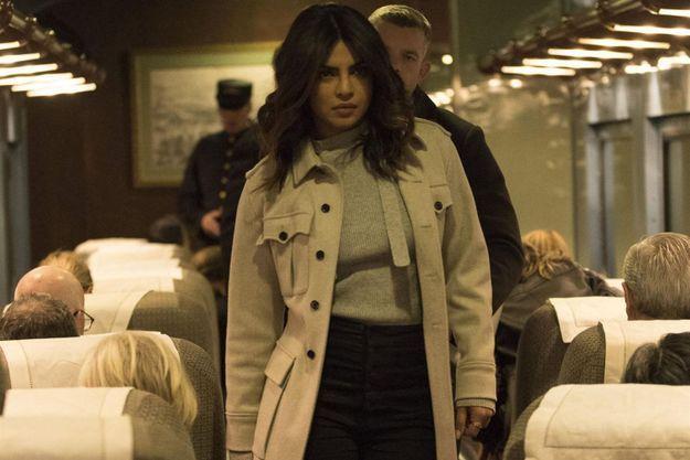 """Priyanka Chopra dans la saison 2 de """"Quantico""""."""