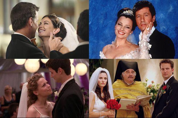 Votez pour le plus beau mariage de séries.