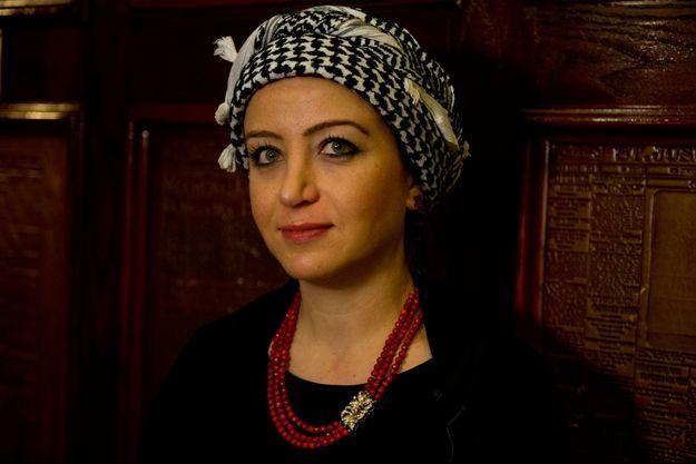 La journaliste syrienne Zaina Erhaim.