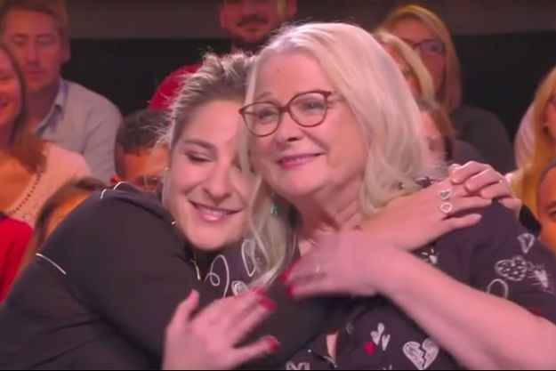 """Marilou Berry et Josiane Balasko sur le plateau de """"TPMP"""" mercredi."""