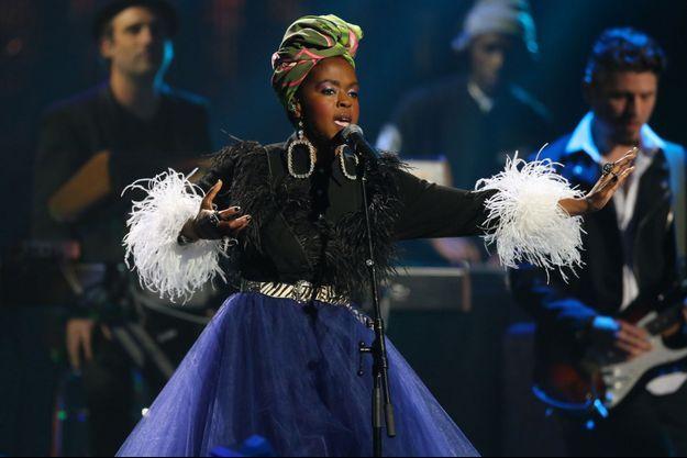 Lauryn Hill en avril dernier.