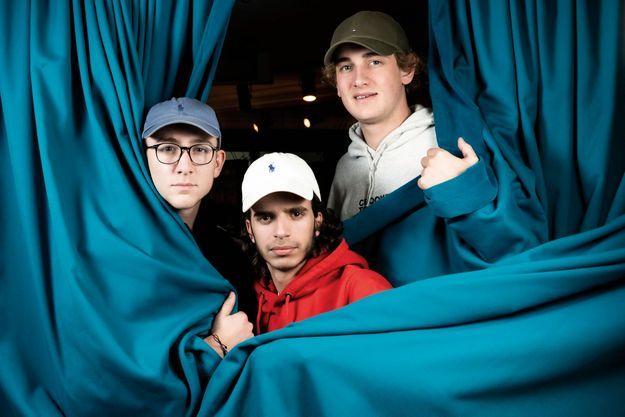 Pierre-Paul, Miguel et Blaise