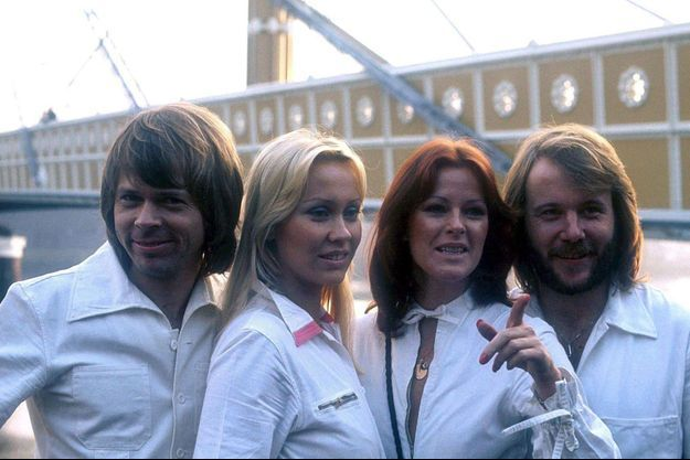 ABBA en 1977.