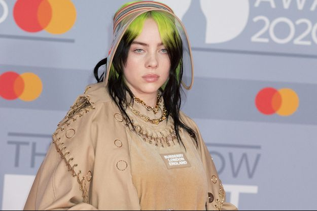 Billie Eilish en 2020.