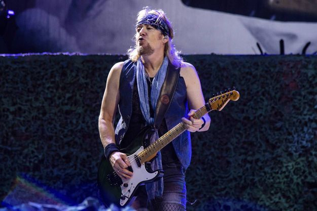 Adrian Smith s'échappe d'Iron Maiden
