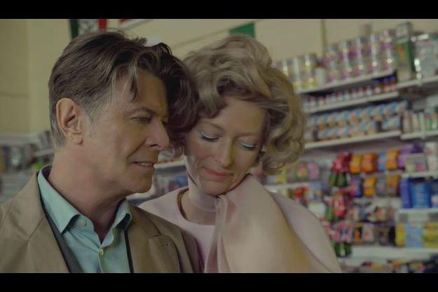 Une image du dernier clip de David Bowie.